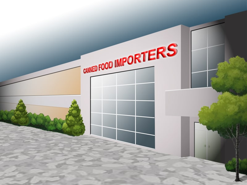 Canned food importers