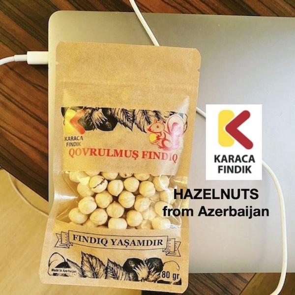 hazelnuts from azerbajian