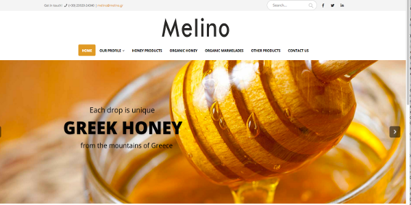 melino web